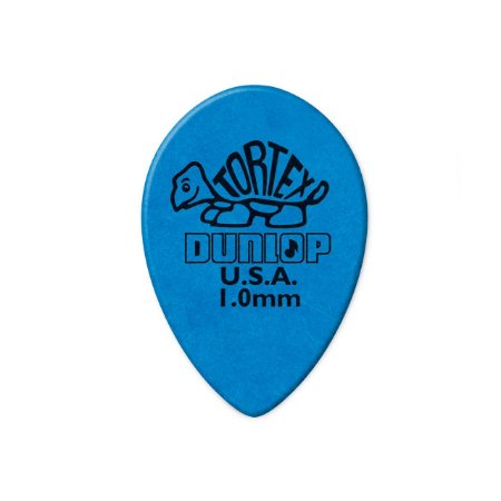 Palheta Tortex Small Teardrop 1mm Azul C/36 423r 1.0 Dunlop