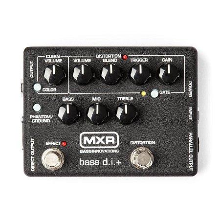 Pedal Mxr Bass D.i.mais Distortion M80 Dunlop