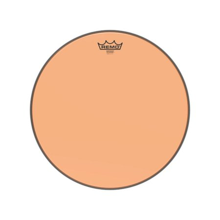 Pele 16 Pol Emperor Colortone Transparente Laranja Be-0316-ct-og Remo