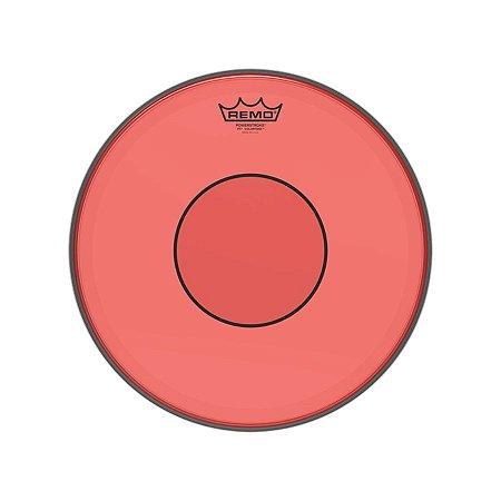 """Pele 14"""" Powerstroke 77 Colortone Vermelha P70314ctrd Remo"""
