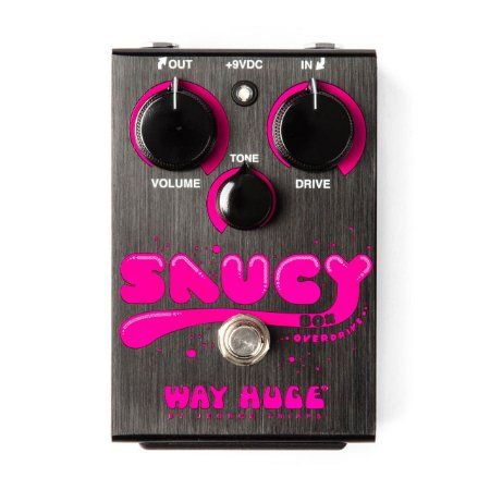 Pedal Saucy Box Overdrive Huge 2 Cabos Pedal Whe205 Dunlop