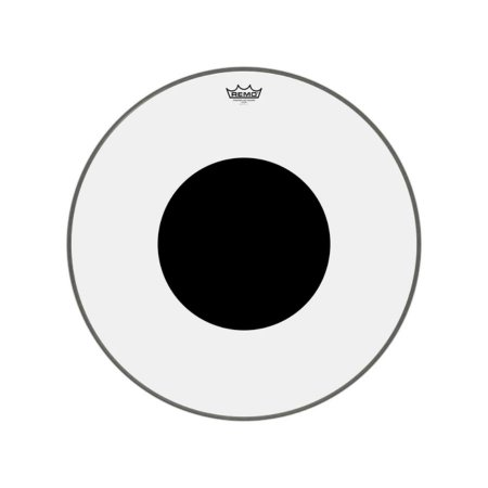 "Pele bumbo 26"" Controlled Sound Transparente Cs132610 Remo"