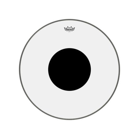 "Pele bumbo 24"" Controlled Sound Transparente Cs132410 Remo"