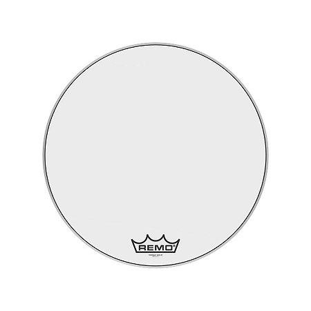 "Pele Bumbo Marcial 24"" Powermax Ultra White Pm-1024-mp Remo"