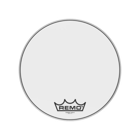 "Pele Bumbo Marcial 16"" Powermax Ultra White Pm-1016-mp Remo"
