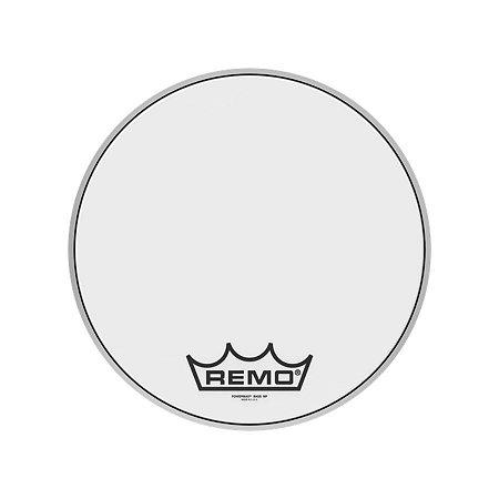 "Pele Bumbo Marcial 14"" Powermax Ultra White Pm-1014-mp Remo"