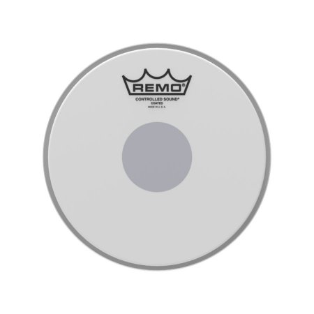 "Pele 8"" Controlled Sound Porosa Circulo Preto Cs010810 Remo"