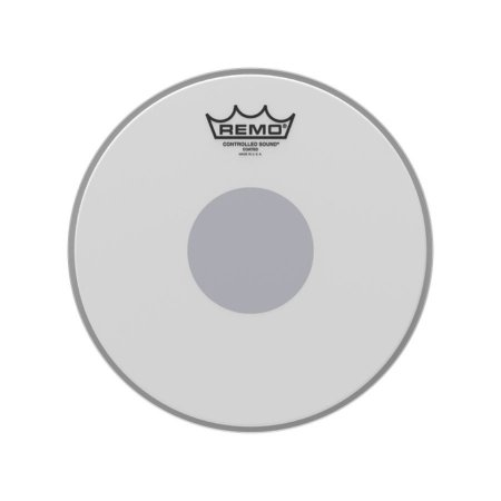 "Pele 10"" Controlled Sound Porosa Circulo Preto Cs011010 Remo"