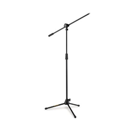 Suporte Girafa P/microfone Quick Turn Ms432b Hercules