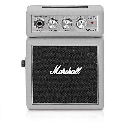Mini Amplificador para Guitarra Marshall MS-2J 1W