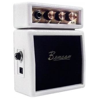 Mini Amplificador para Guitarra BENSON AM-2W 9V 1W