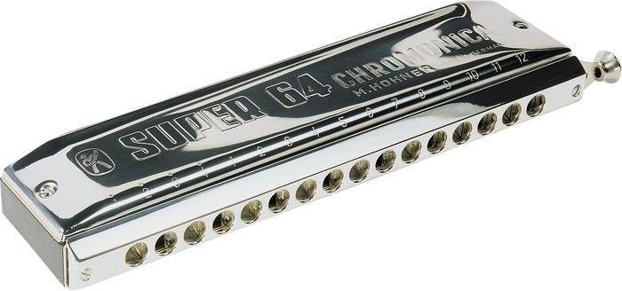Gaita Harmonica Hohner Super 64 7582/64C