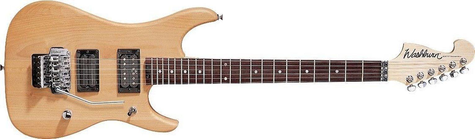 Guitarra Washburn N2NM Nuno Bettencourt Natural com Bag