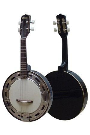 Banjo Rozini Elétrico Captação com Cápsula Leson - RJ11EL