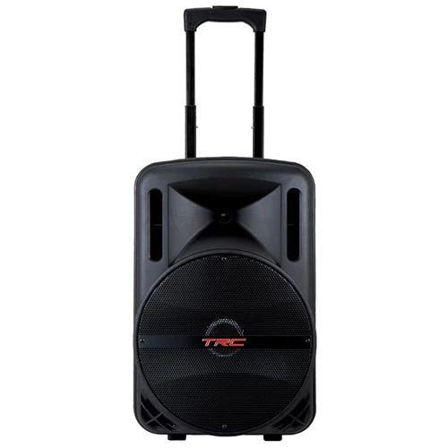 """Caixa de som Amplificada TRC 5536 12"""" Bluetooth 360W"""