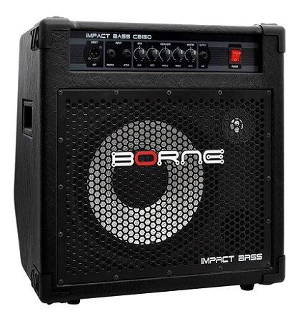 Amplificador Baixo Borne Impact Bass CB150 Alumínio 150W RMS