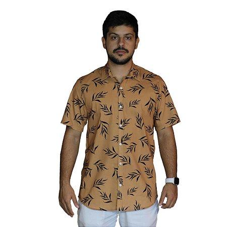 Camisa AÉROPOSTALE Folhagem Khaki