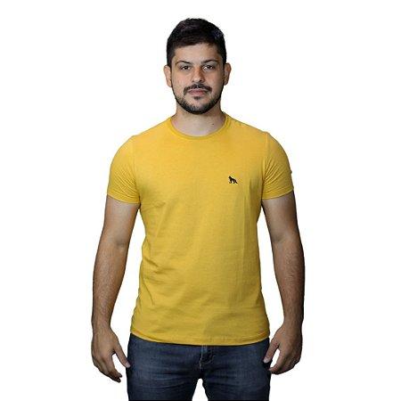 Camiseta Acostamento Básica Amarelo Malta