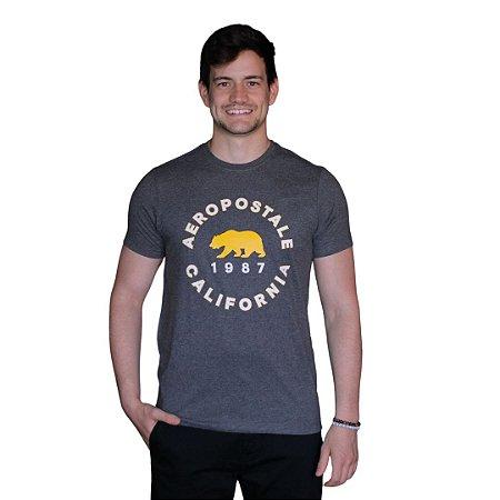 Camiseta AÉROPOSTALE Califórnia Preto
