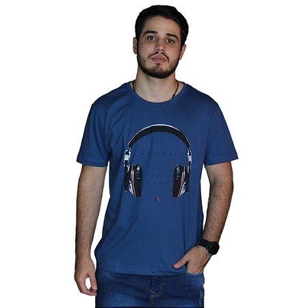 Camiseta JAB Musique Azul Marinho