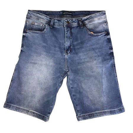 Bermuda Jeans AÉROPOSTALE Walk Azul Claro