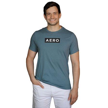 Camiseta AÉROPOSTALE Logo Aero Azul Marinho Oxford