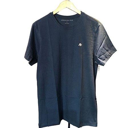 Camiseta AÉROPOSTALE Básica Azul Marinho