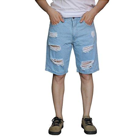 Bermuda Jeans AÉROPOSTALE Claro