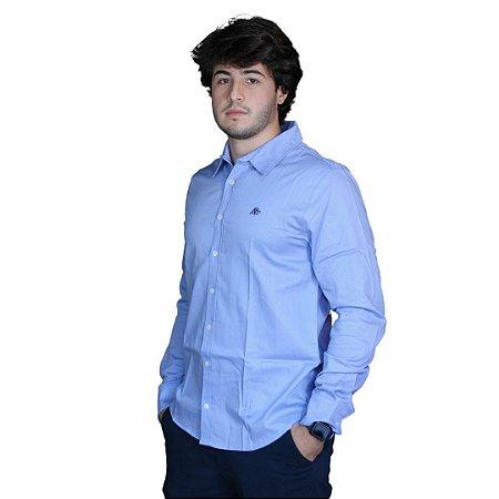 Camisa AÉROPOSTALE M/L Azul