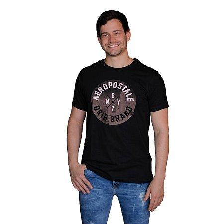 Camiseta AÉROPOSTALE 87NY Preto