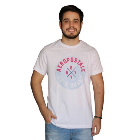 Camiseta AÉROPOSTALE 87NY Branco