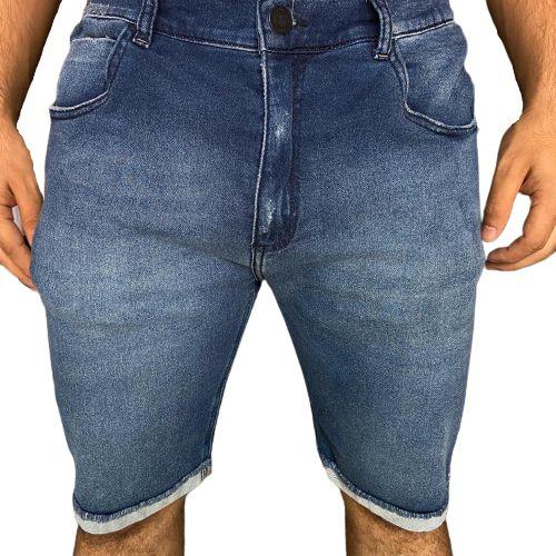 Bermuda Jeans JOHN JOHN Clássica Paris