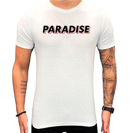 Camiseta PARADISE Red Contorn