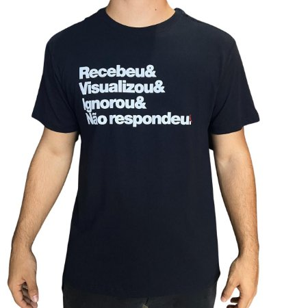 Camiseta RESERVA Recebeu & Visualizou