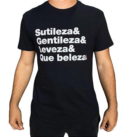 Camiseta RESERVA Sutileza & Gentileza