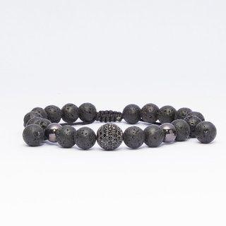 Pulseira OCCHIALI Pedras Grey