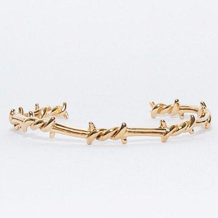 Pulseira OCCHIALI Bracelete Aço Gold