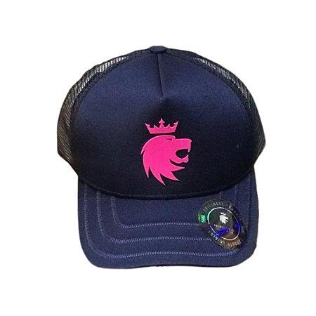 Boné VON DER VÖLKE Lion Marinho
