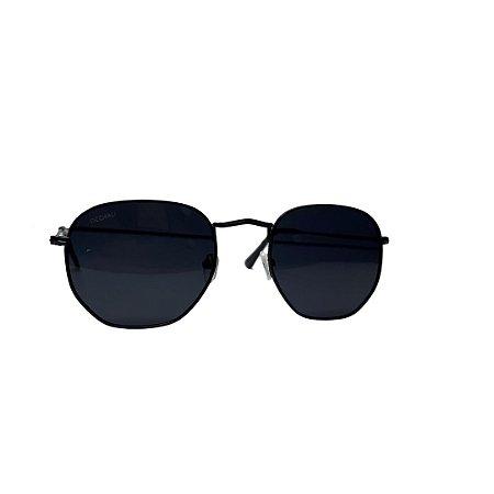 Óculos de Sol OCCHIALI Futuro Preto com Preto