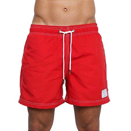 Swim Shorts LA MOUSTACHE Red