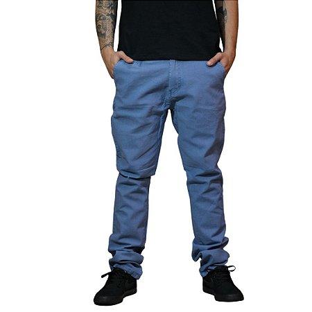 Calça JAB Linho/Algodão Azul