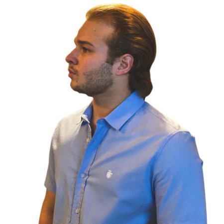 Camisa VON DER VÖLKE MC Azul