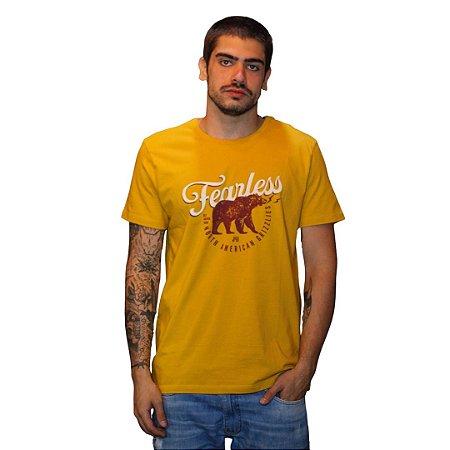 Camiseta JAB American Grizzlies Mostarda