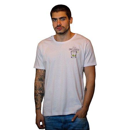Camiseta JAB Ginfluencer Branco