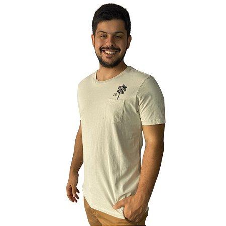 Camiseta JAB Selo Off White