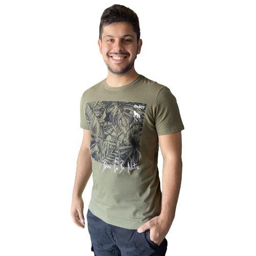 Camiseta ACOSTAMENTO MC SK Verde Oliva
