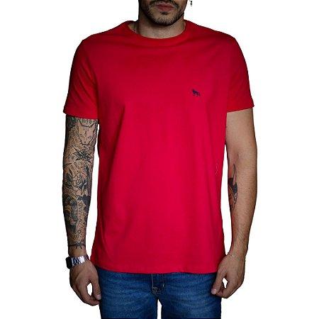 Camiseta ACOSTAMENTO Lobo Costas Vermelho Roma