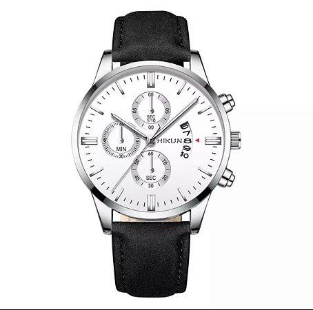 Relógio HIKUN Black/Silver