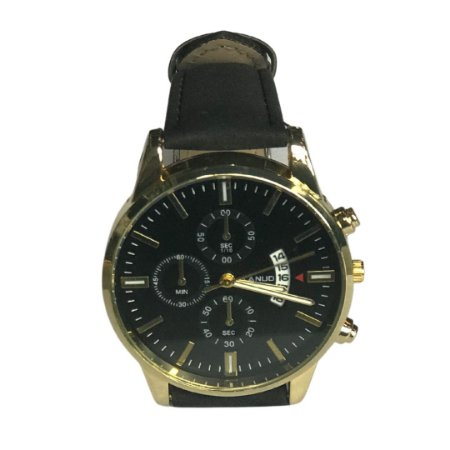 Relógio JIANUO Golden/Black