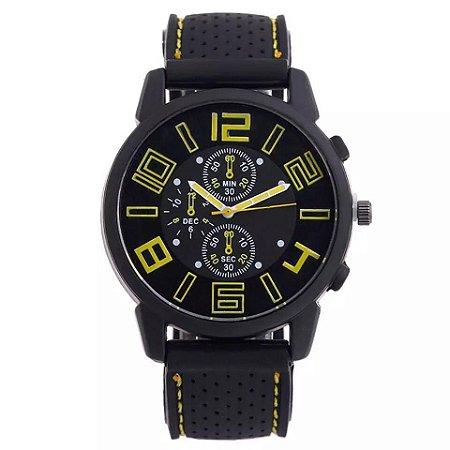 Relógio GRAND TOURING Yellow/Black
